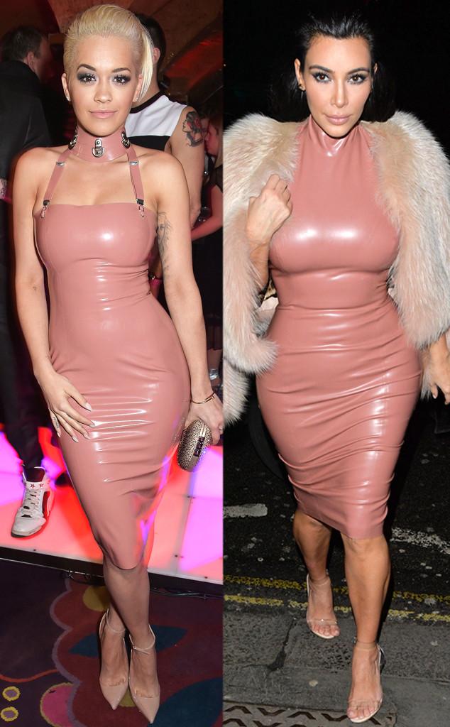 OMG! ¿Kim Kardashian y Rita Ora coordinaron sus atuendos? (+ Fotos ...
