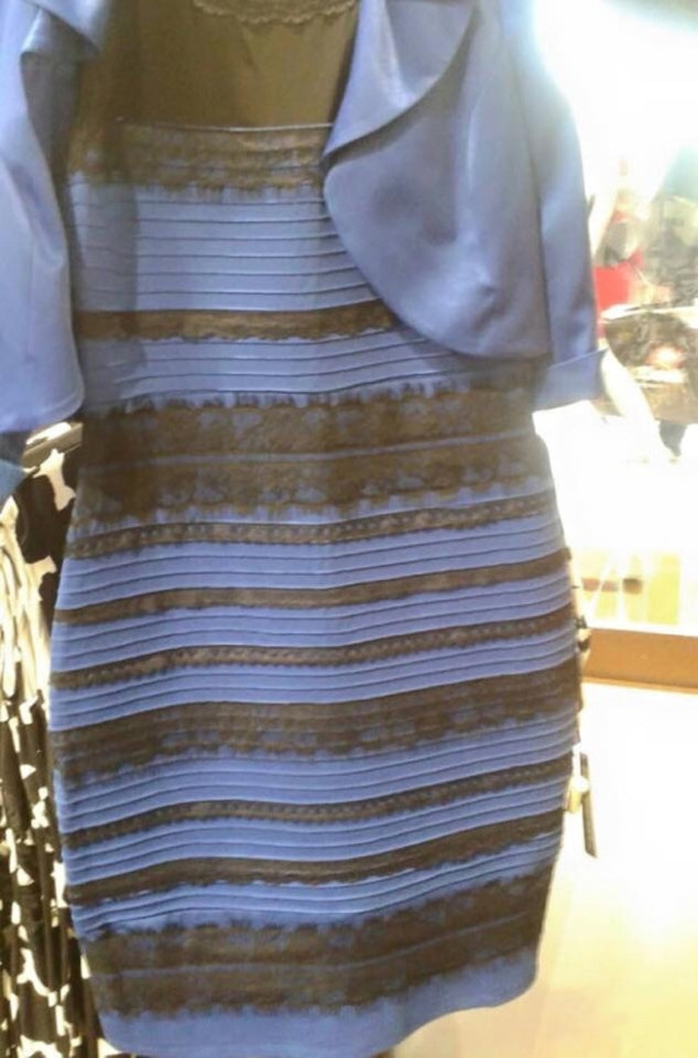 Social Media Moments of the Decade - 2015, The Dress, Blue And Black, White And Gold