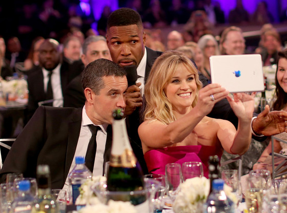 Jim Toth, Michael Strahan, Reese Witherspoon , People's Choice Awards