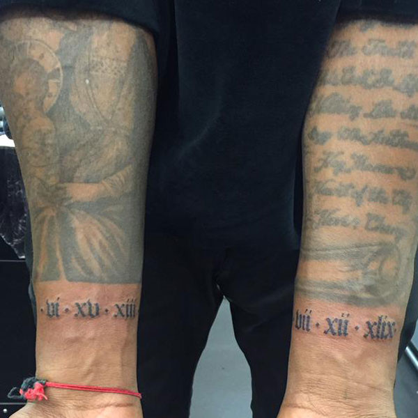 Kanye West, Tattoo, Twitter