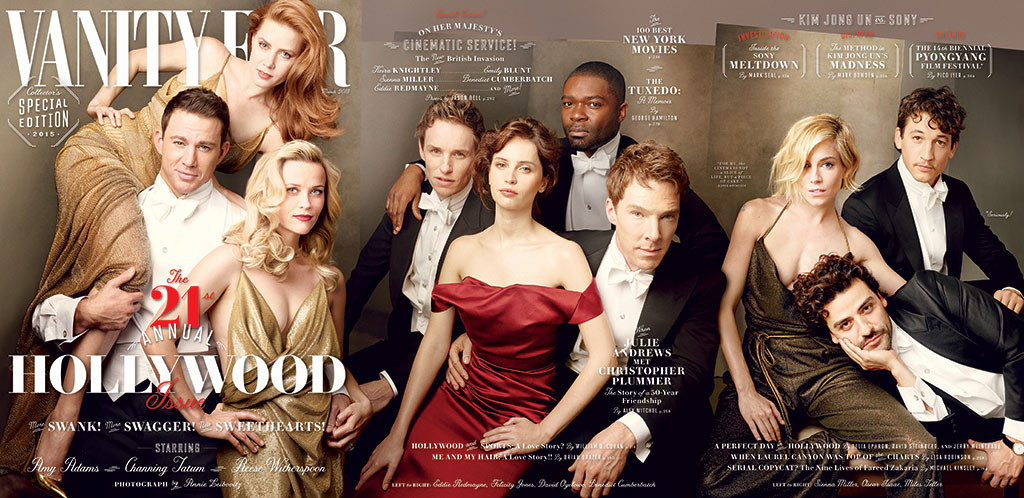 2015 HOLLYWOOD ISSUE, Vanity Fair