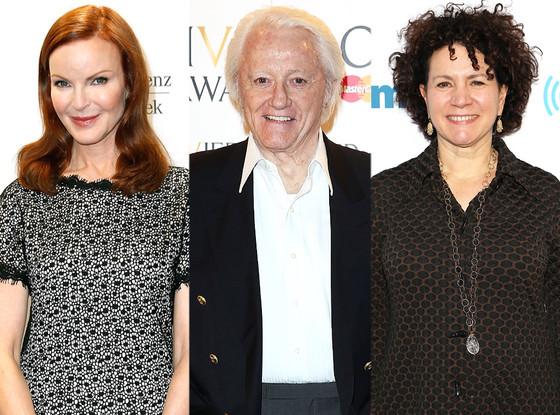 Marcia Cross, Susie Essman, Robert Vaughn