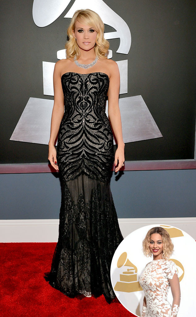 Carrie Underwood, Beyonce, Grammys