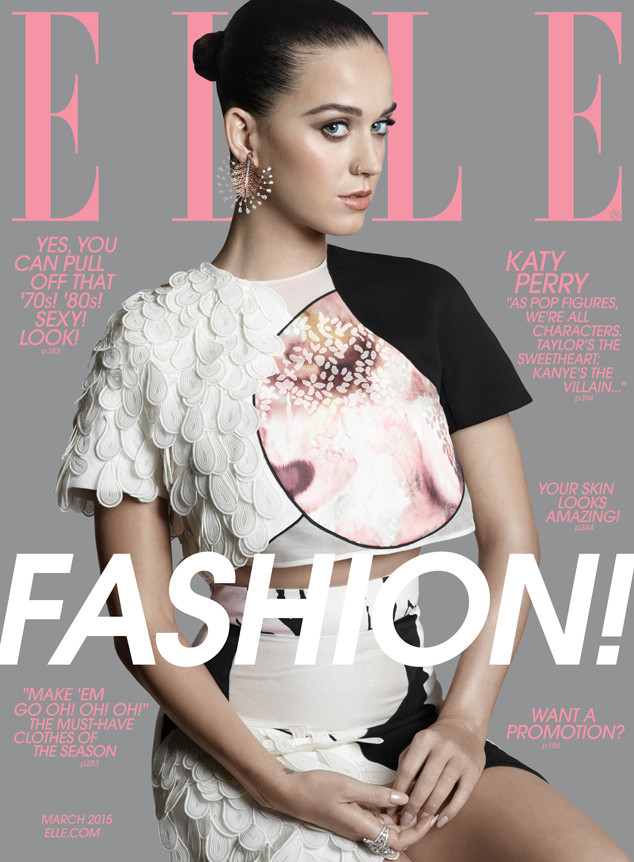 Katy Perry, Elle Magazine
