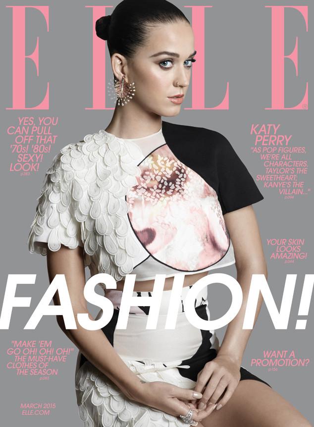 Katy Perry, Elle Magazine