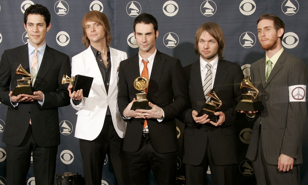 Maroon 5, 2005 Grammy Awards