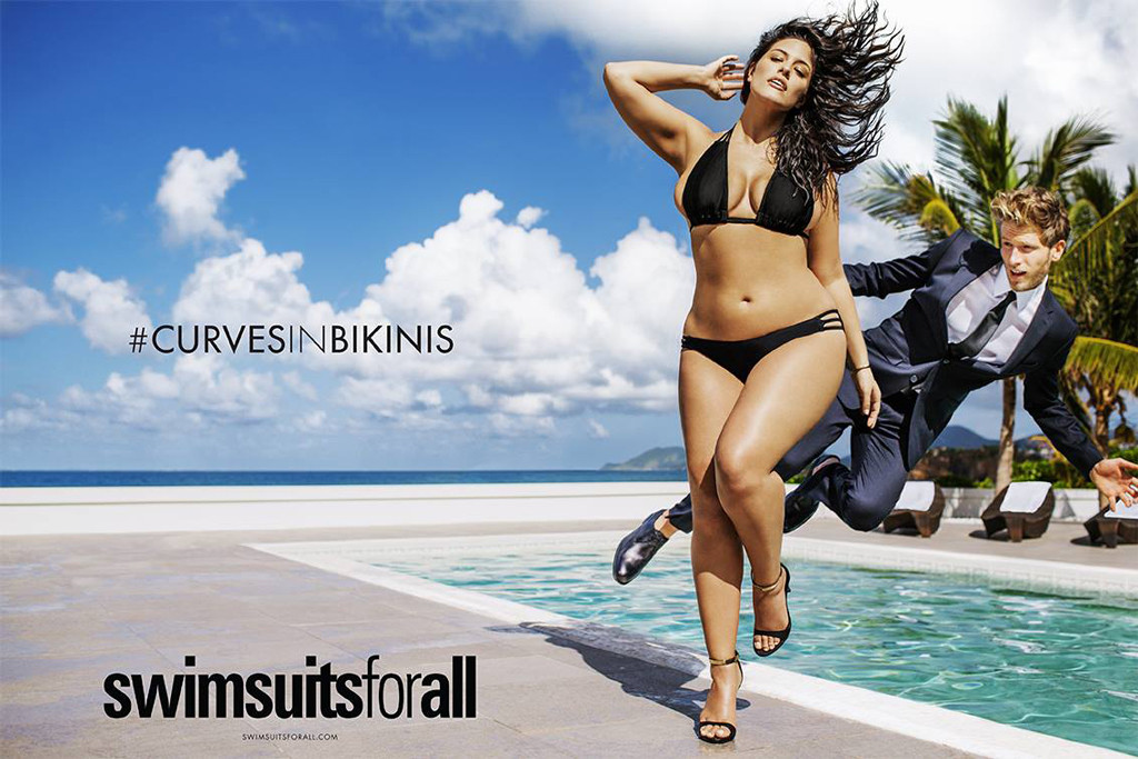 Sports Illustrated Swimsuit Issue Features First Plus Size Model Size 16 Beauty Ashley Graham See The Pic E Online