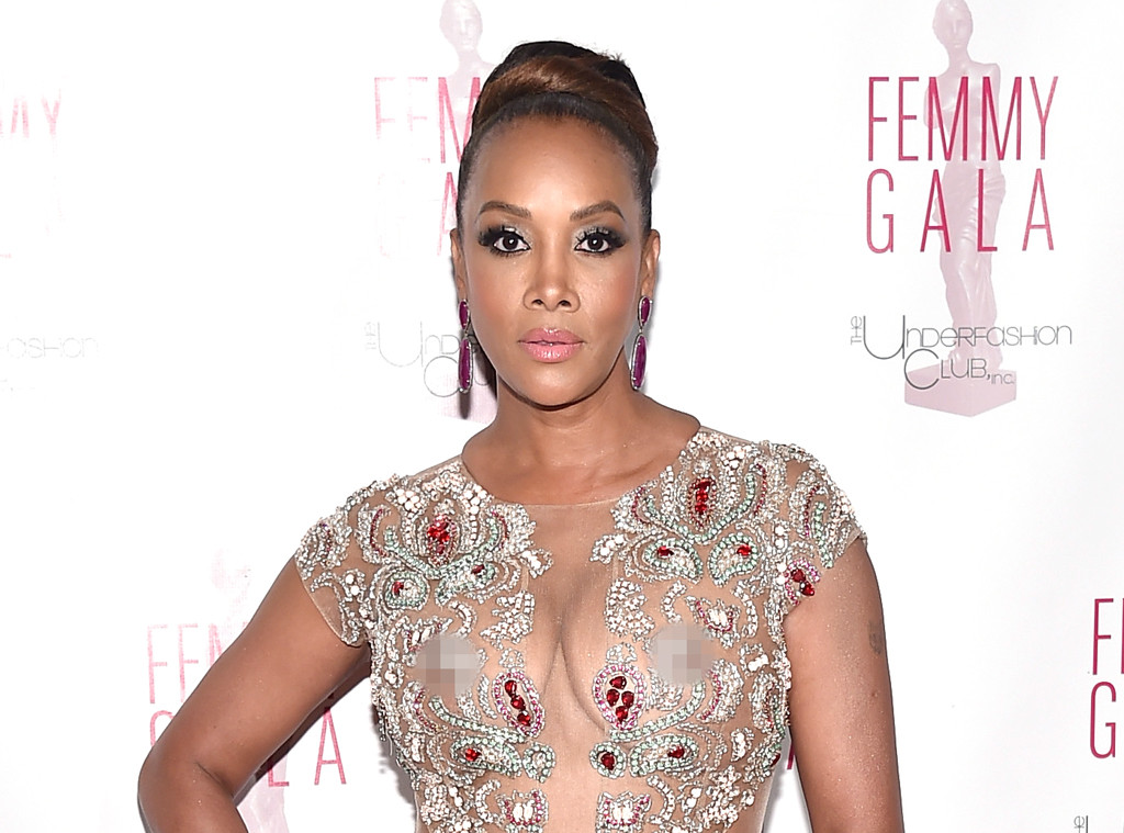 Vivica A. Fox Flashes Bare Breasts and Nipples in Sexy Sheer Dress: See the 50-Year-Old's Bold ...