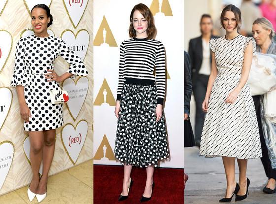 Fashion Star in a Same Trend