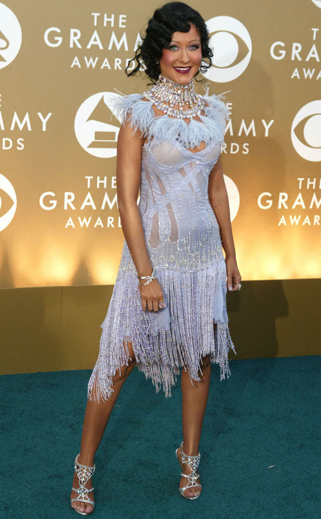 Christina Aguilera, Early 2000s Fashion, Grammys