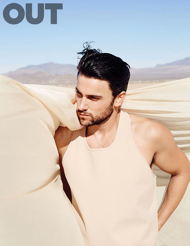 Jack Falahee, OUT Magazine