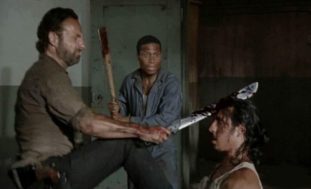 The Walking Dead, Death Gallery, Tomas, Nick Gomez