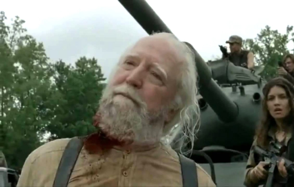 The Walking Dead, Death Gallery, Hershel, Scott Wilson