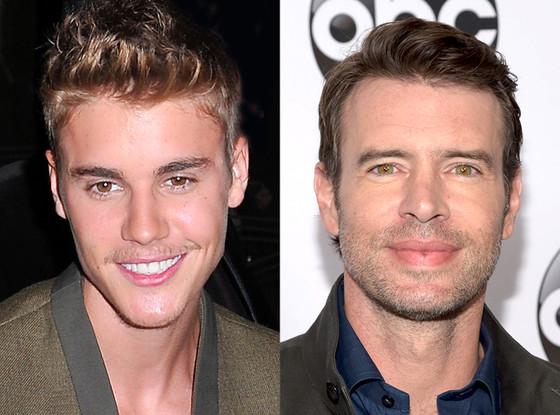Scott Foley, Justin Bieber
