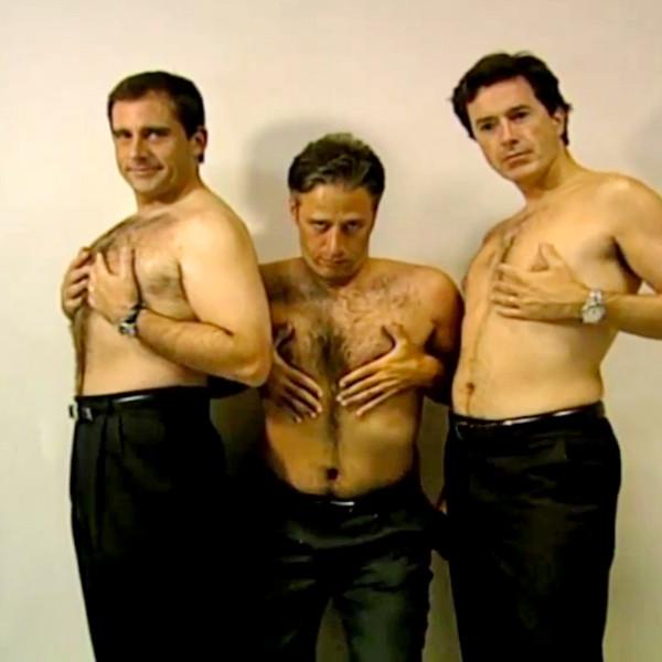 The Daily Show, TBT, Steve Carell, Jon Stewart, Stephen Colbert