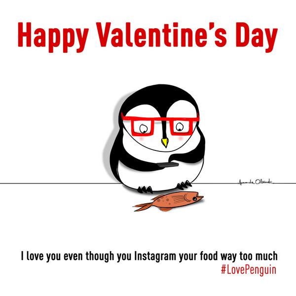 Penguin E-Cards, Valentine's Day
