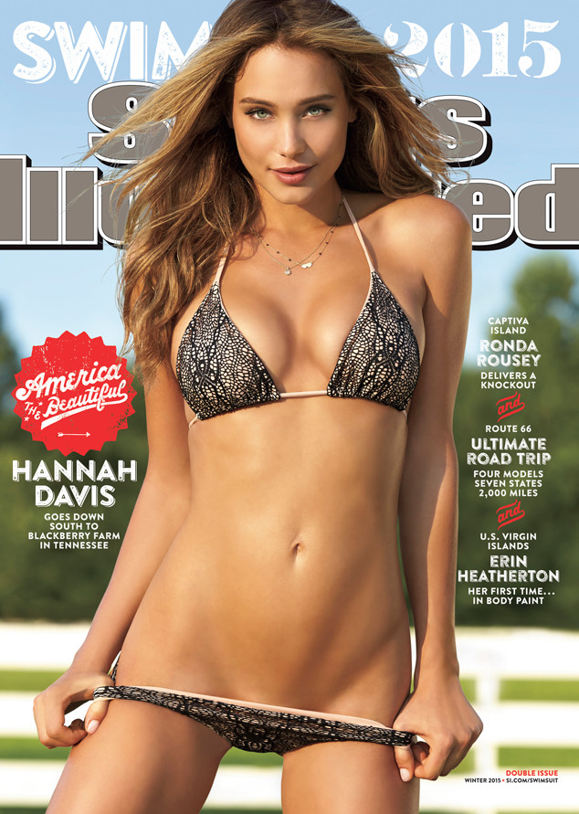 Sports Illustrated, Hannah Davis, Twitter