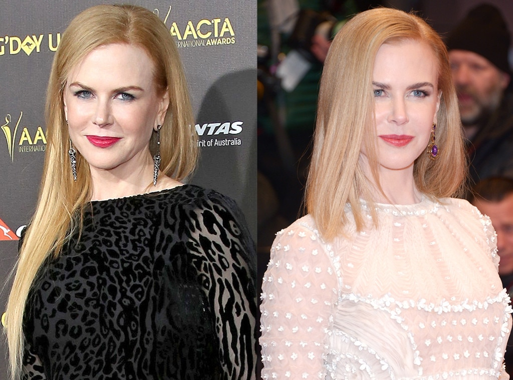 Nicole Kidman From Celebrity Haircuts The Bob E News