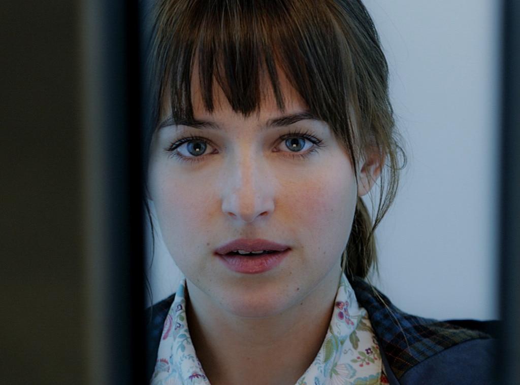 Dakota Johnson In Fifty Shades Of Grey