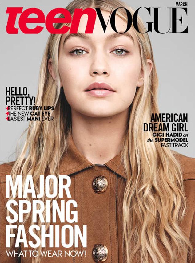 Gigi Hadid, Teen Vogue