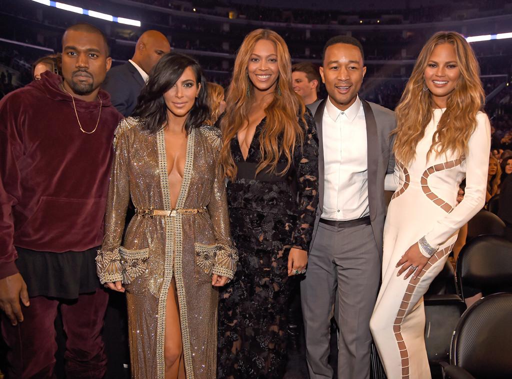 Kanye West, Kim Kardashian West, Beyonce, John Legend, Chrissy Teigen