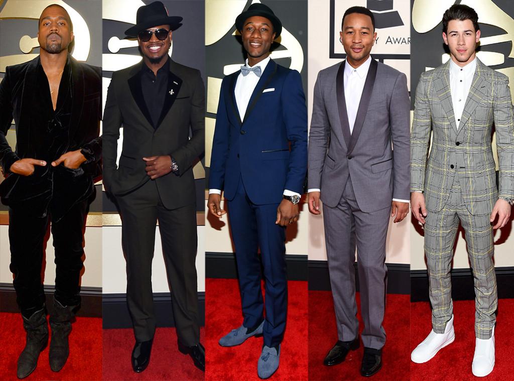 Best Dresses Men, Grammy Awards