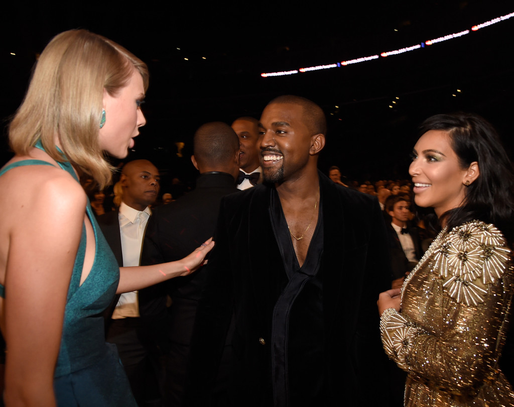 Taylor Swift, Kanye West, Kim Kardashian West, Grammy Awards