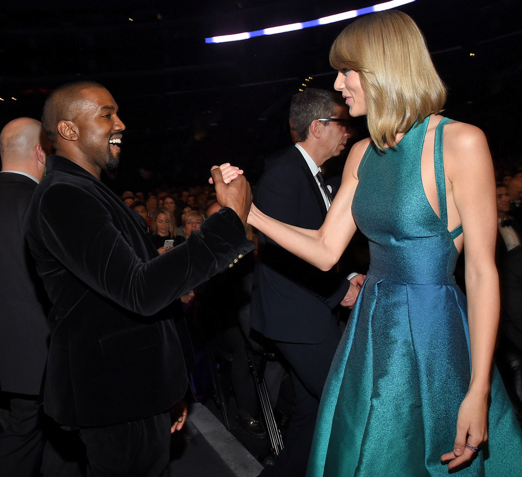 Kanye West, Taylor Swift, Grammy Awards, Candids