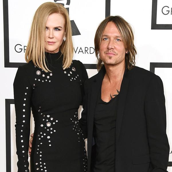 Keith Urban, Nicole Kidman, Grammy Awards, Couples