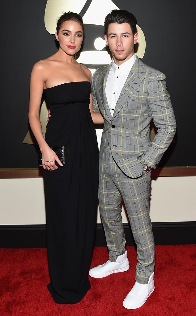 Olivia Culpo, Nick Jonas, Grammy Awards, Couples