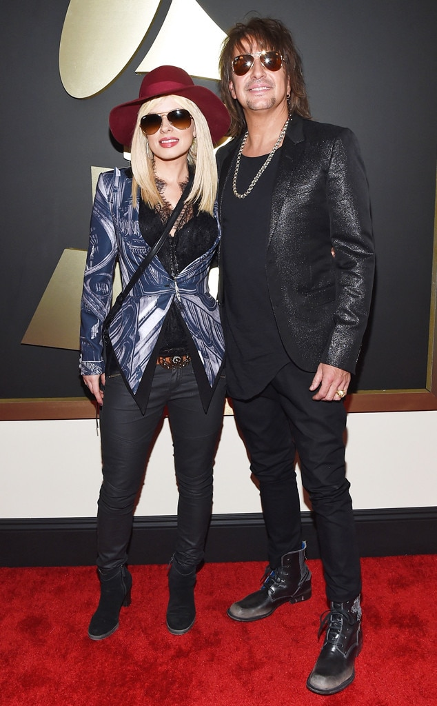 Orianthi, Richie Sambora, Grammy Awards, Couples