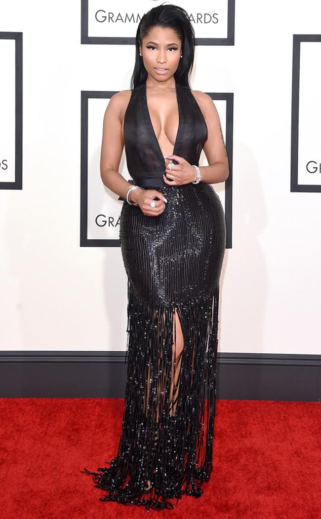 Nicki Minaj confessa no Grammy 2015 que ama os seios de Katy Perry