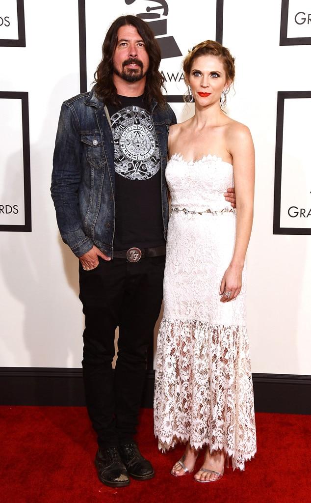Dave Grohl, Jordyn Blum, Grammy Awards, Couples