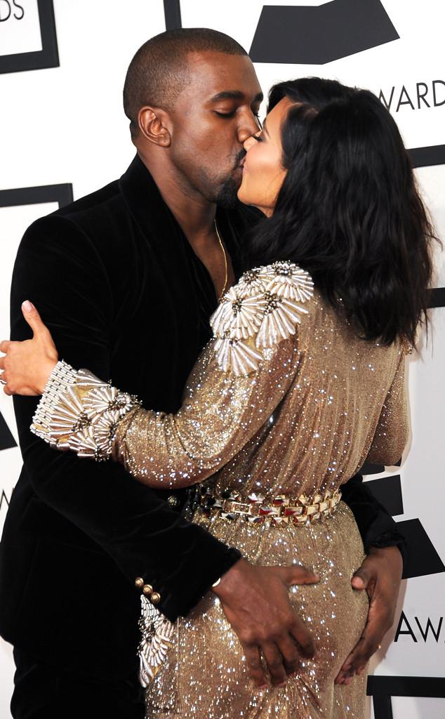 Kim Kardashian, Kanye West, Grammy Awards, Couples