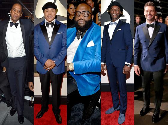 Grammys Blue Suits