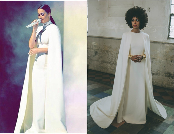 Katy Perry, Solange Knowles