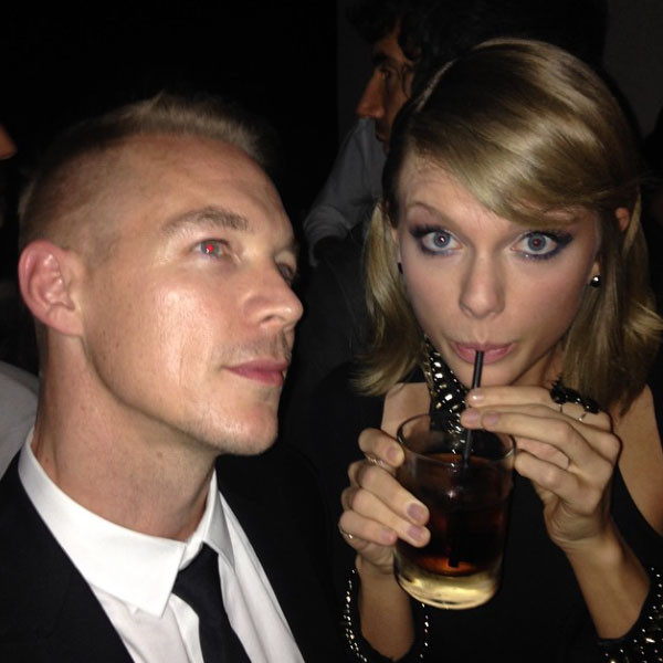 Diplo, Taylor Swift, Instagram