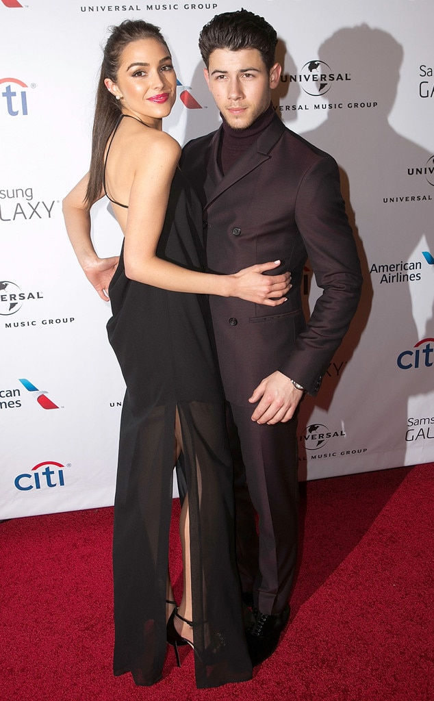 Nick Jonas, Olivia Culpo, Grammys After-Party