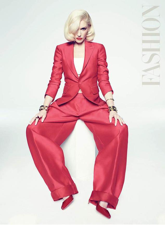 Gwen Stefani, Fashion Magazine