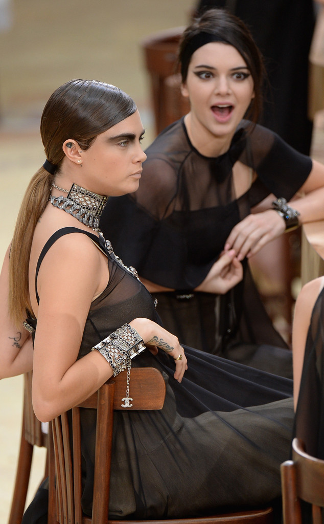 Cara Delevingne and Kendall Jenners BFF Beauty   Vogue