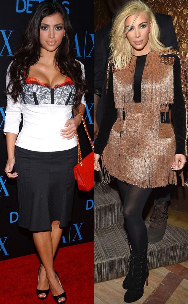 Kim Kardashian, Through the Years