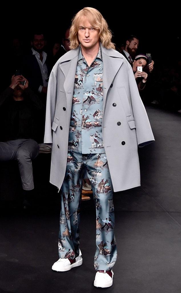 Owen Wilson, Paris Fashion Week, Zoolander