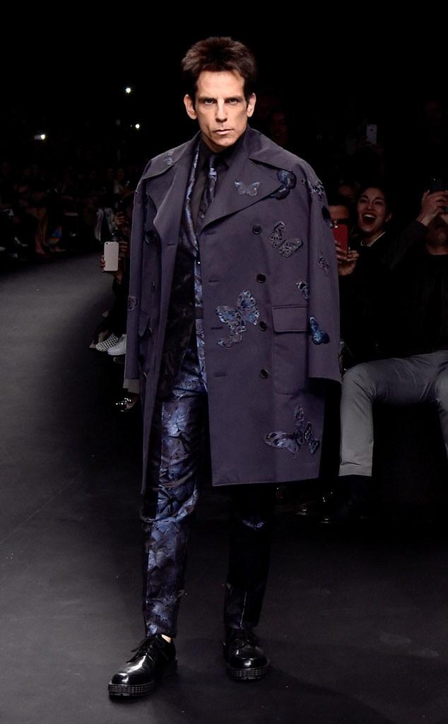 Ben Stiller, Paris Fashion Week, Zoolander