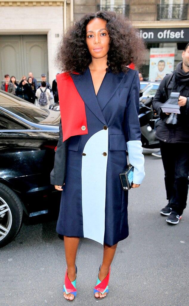 Solange Knowles, Paris Fashion Week, Vivienne Westwood