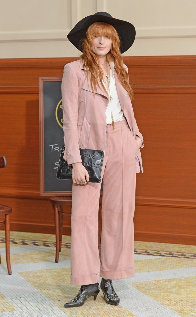 Florence Welch, Paris Fashion Week, Chanel
