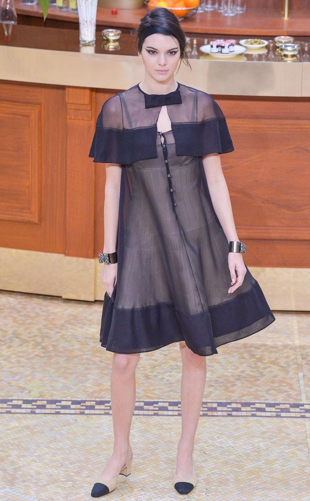 Kendall Jenner, Paris Fashion Week, Chanel