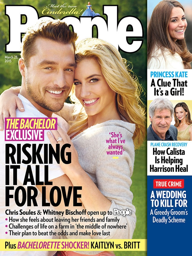 Chris Soules, Whitney Bischoff, Bachelor, People