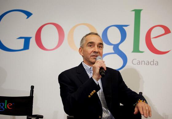 Patrick Pichette, Google