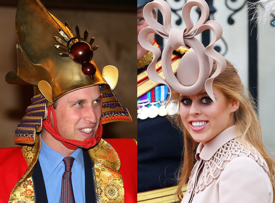 Prince William, Princess Beatrice, Wildest Royal Fashions