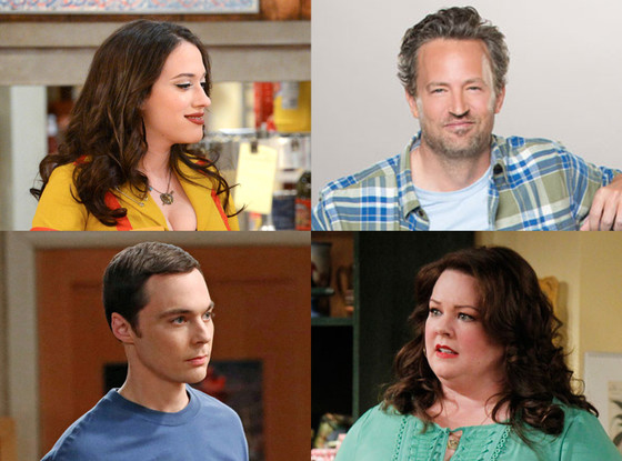 2 Broke Girls, Big Bang Theory, Mike & Molly, Odd Couple